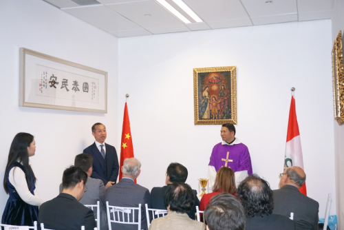 Chairman Lucas Lo attended the opening ceremony of Latin American countries Consulate General in Gua...