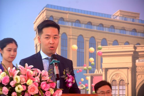 Topping out ceremony of MACAU ARCADE PLAZA