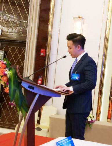 陝西省海外聯誼會換屆暨四屆一次理事大會上發言